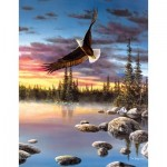 Puzzle  Sunsout-67397 XXL Pieces - Jim Hansel - Sky Dancer