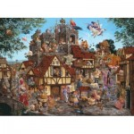 Puzzle  Sunsout-67583 James Christensen - Rhymes and Reasons