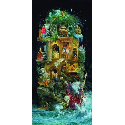 Puzzle Sunsout-67590 James C. Christensen - Shakespearean Fantasy