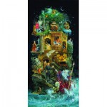Puzzle  Sunsout-67590 James C. Christensen - Shakespearean Fantasy