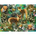 Puzzle  Sunsout-68022 XXL Pieces - Forest Critters
