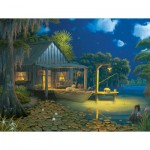 Puzzle  Sunsout-69101 XXL Pieces - Bayou Moon