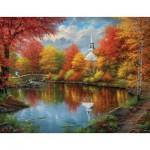 Puzzle  Sunsout-69621 XXL Pieces - Abraham Hunter - Autumn Tranquility