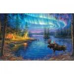 Puzzle  Sunsout-69632 Abraham Hunter - Northern Night