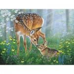 Puzzle  Sunsout-69641 XXL Pieces - Forest Friendship