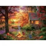 Puzzle  Sunsout-69676 XXL Pieces - Abraham Hunter - Sunset Serenity