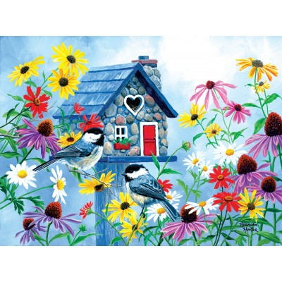 Puzzle Sunsout-69726 Abraham Hunter - Tweet Hearts Cottage