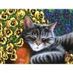 Puzzle  Sunsout-69920 XXL Pieces - Garden Nap
