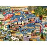 Puzzle  Sunsout-70029 Ward Thacker Studio - South Carolina