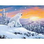 Puzzle  Sunsout-70266 XXL Pieces - The Snow Bears