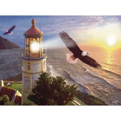 Puzzle Sunsout-70881 Steve Sundram - Eagle Light