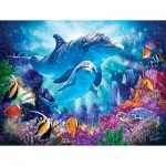 Puzzle  Sunsout-70926 XXL Pieces - Dolphin Guardian
