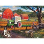 Puzzle  Sunsout-70957 XXL Pieces - The Farm