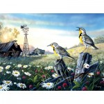 Puzzle  Sunsout-71131 Terry Doughty - Meadow Outpost