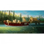 Puzzle  Sunsout-71196 XXL Pieces - Fishing Lessons