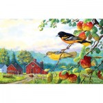 Puzzle  Sunsout-71221 Terry Doughty - Old Orchard Hideaway