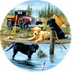 Puzzle  Sunsout-73431 XXL Pieces - Camping Trip