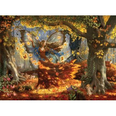 Puzzle Sunsout-76322 Ruth Sanderson - Woodland Fairy