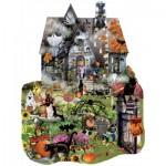 Puzzle  Sunsout-95615 Lori Schory - Spooky House