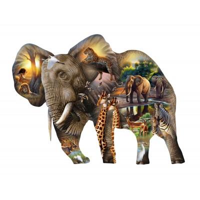 Puzzle Sunsout-95769 XXL Pieces - Elephant