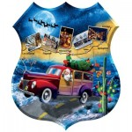 Puzzle  Sunsout-95808 XXL Pieces - Jim Todd - Santa's Highway