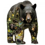 Puzzle  Sunsout-96033 XXL Pieces - Greg Giordano - Forest Bear