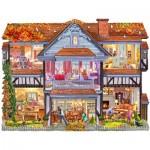 Puzzle  Sunsout-96058 Steve Crisp - Autumn Country House