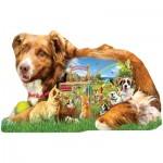 Puzzle  Sunsout-96074 XXL Pieces - Lori Schory - Dog Park