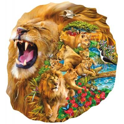Puzzle Sunsout-97010 Lori Schory - Lion Family