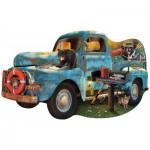 Puzzle  Sunsout-97032 The Blue Truck