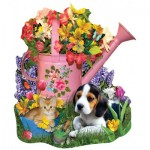 Puzzle  Sunsout-97165 Lori Schory - Spring Watering Can