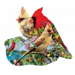 Puzzle  Sunsout-97198 Lori Schory - Summer Cardinals