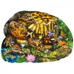 Puzzle  Sunsout-97285 XXL Pieces - Lori Schory - Tortoise Crossing