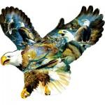 Puzzle  Sunsout-97290 Don Kloeztke - Eagle Majesty