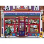 Bigalow Illustrations - Professor Puzzle Shop