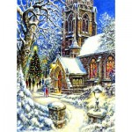 Puzzle   Church in the Snow