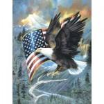 Puzzle  Sunsout-CL59012 XXL Pieces - American Eagle