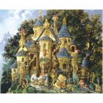 Puzzle  Sunsout-CN67550 James Christensen - College of Magical Knowledge