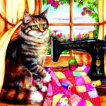 Puzzle   Debbie Cook - The Seamstress