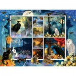 Puzzle   Finchley Paper Arts - Halloween Stamps Spooky