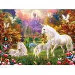 Puzzle   Jan Patrik Krasny - Castle Unicorns
