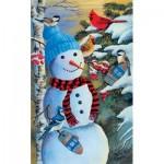 Puzzle   Jeff Renner - Snowman's Party