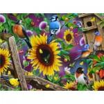 Puzzle   Jerry Gadamus - Fenceline Birds