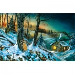 Puzzle   Jim Hansel - Frozen Memories