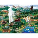 Puzzle   Joseph Burgess - Yellowstone Adventures