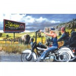 Puzzle   Kevin Daniel - Heading for Sturgis