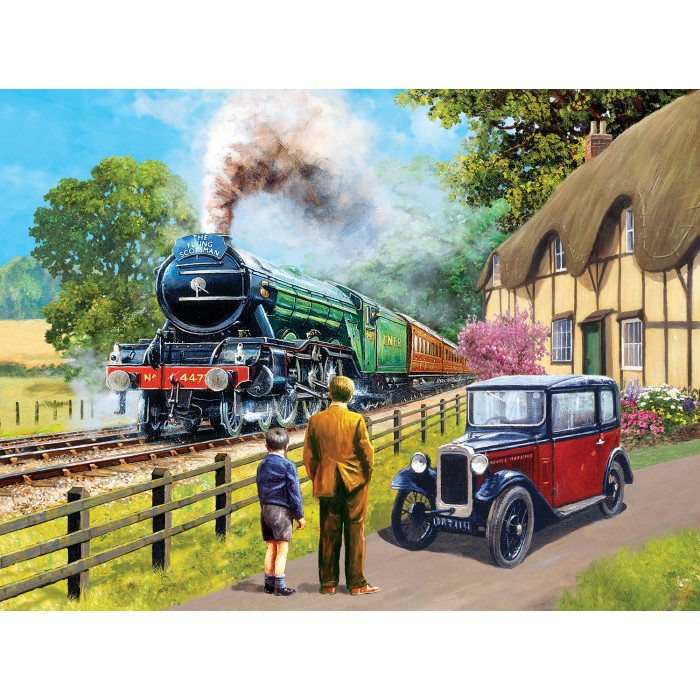 Kevin Walsh - The Flying Scotsman Puzzle 1000 pieces