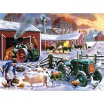 Puzzle   Kevin Walsh - Wintertime Farm
