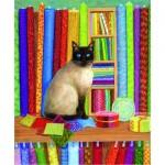Puzzle   Linda Elliott - Quilt Shop Cat