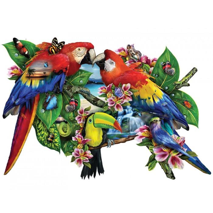 Lori Schory - Parrots in Paradise Puzzle 1000pieces